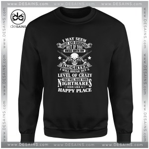 Cheap Graphic Sweatshirt Veteran Day Dont Mess with my Daughter