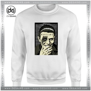 Cheap Graphic Sweatshirt Warszawa David Bowie Smoke Size S-3XL