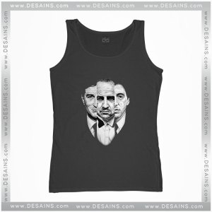 Cheap Graphic Tank Top The Godfather Movie Retro Poster Size S-3XL