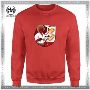 Cheap Sweatshirt Happy Little Chimichangas Deadpool Crewneck Size S-3XL