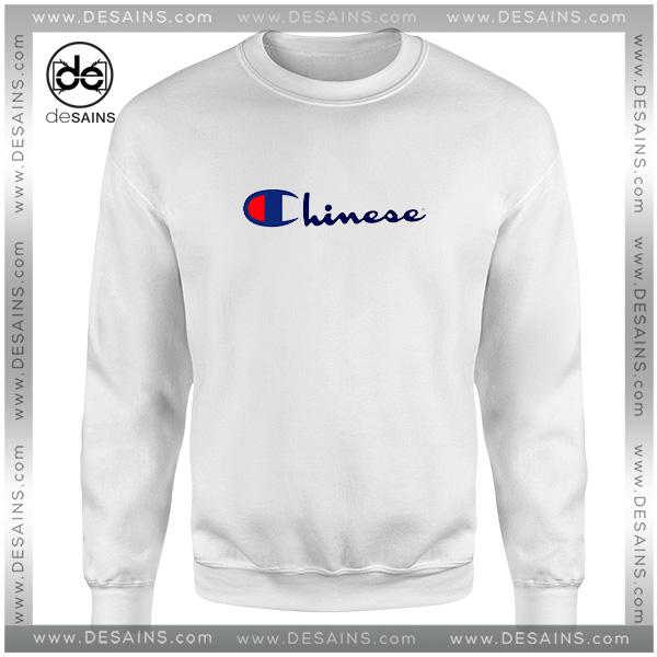 Buy Cheap Sweatshirt Chinese Champion Crewneck Sweater Size S-3XL