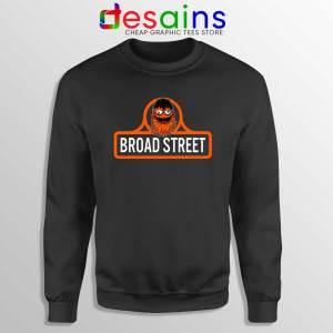 Sweatshirt Gritty Mascot Broad Street Crewneck Size S-3XL