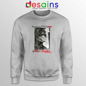 Buy Andy Warhol Celebrity Art Sweatshirt SPort Grey