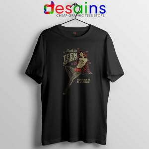 Tshirt Smells Like Teen Spirit Girl Sexy Nirvana Size Black Tshirt