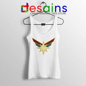 Best Tank Top Captain Marvel Powers Seal Size S-3XL White