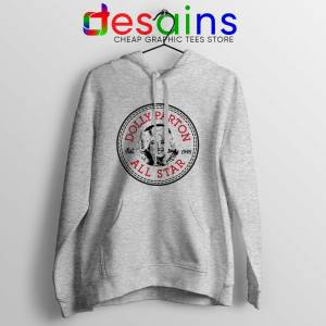 Buy Hoodie Dolly Parton Converse All Star Size S-3XL Sport Grey
