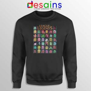 Buy Sweatshirt League Of Legends NBA Crewneck Size S-3XL