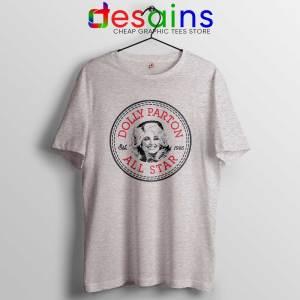 Cheap Tee Shirts Dolly Parton Converse All Star Size S-3XL Sport Grey