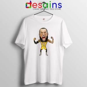 Cheap Tee Shirts Lakers James Tshirt LeBron James Size S-3XL