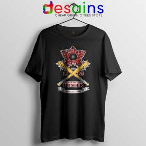 Tee Shirt Stranger Things Season 3 Demogorgon Hunter Size S-3XL