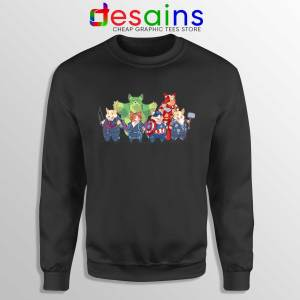 Buy Sweatshirt The Corgi Avengers Endgame Crewneck Black