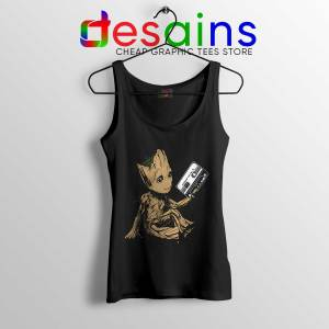 Cheap Tank Top Groot Guardians Of The Galaxy Tank Tops Size S-3XL