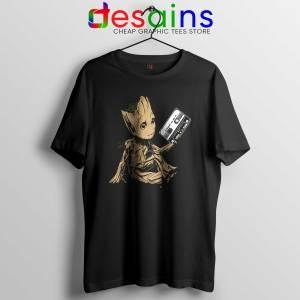 Tee Shirt Groot Guardians Of The Galaxy Cheap Tshirt Marvel Movie