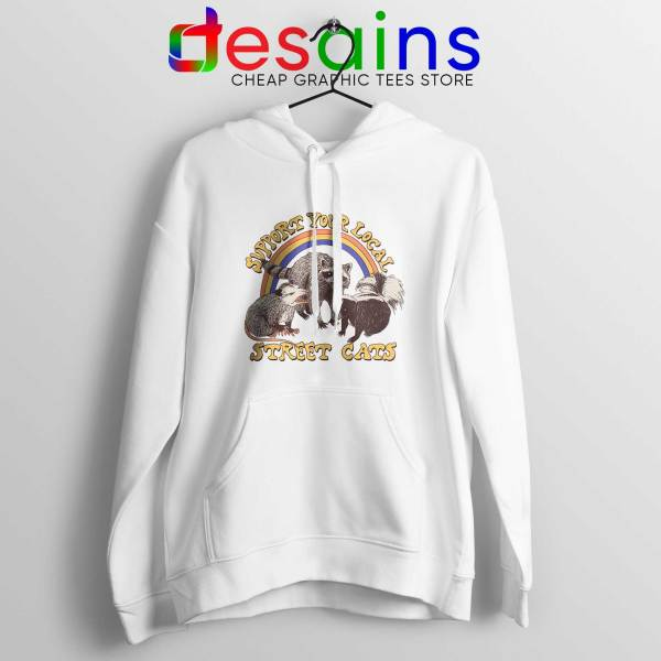 Hoodie Support Your Local Street Cats Hoodies Adult Unisex