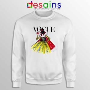 Sweatshirt Disney Vogue Princess Sweater Vogue Magazine Size S-3XL
