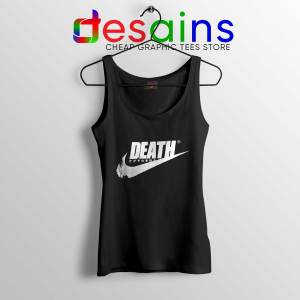 Tank Top Death Just Do It Japanese Nike Parody Tank Tops Size S-3XL
