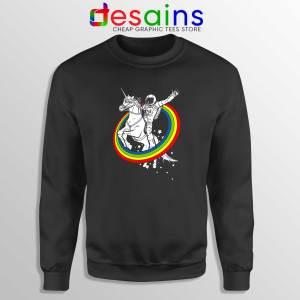 Astronaut Ride On Unicorn Sweatshirt Epic Combo Crewneck Sweater