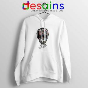 Hoodie White Stan Lee Thanks for the Memories Stan Lee Father of all Heros