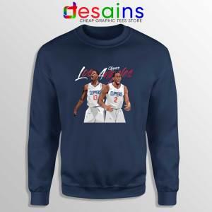 Kawhi Leonard Paul George Sweatshirt LA Clippers NBA Cheap Sweater