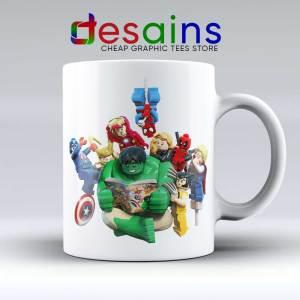 Lego Avengers Endgame Mug - Ceramic Coffee Mugs Lego Print