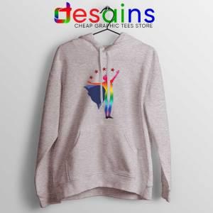 Megan Rapinoe Hero Pride Sport Grey Hoodie Buy Hoodies Unisex Rapinoe