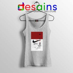 Off White Shoes Air 85 Sport Grey Tank Top Cheap Tank Tops OffWhite Sale