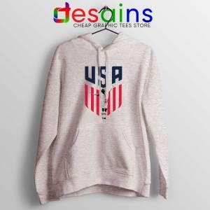 Rapinoe USA Soccer Women Sport Grey Hoodie Buy Hoodies Megan Rapinoe