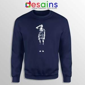 Sweatshirt Alex Drinking Tea Crewneck Sweater Alex Morgan On Sale