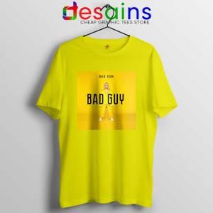 Bad Guy Billie Eilish Tshirt Cheap Billie Eilish Merch Tee Shirts