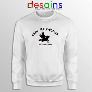 Camp Half Blood Chronicles White Sweatshirt Cheap Graphic Sweater