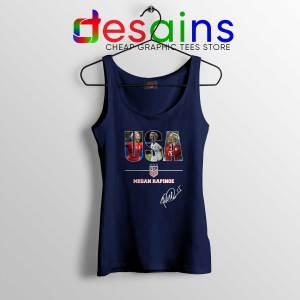 Cheap Tank Top Navy Megan Rapinoe Signature USA Womens Soccer Team
