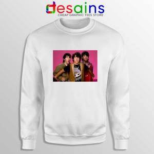 Jonas Brothers Vintage Sweatshirt JOBROS Crewneck Sweater