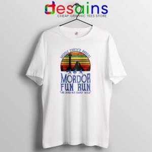 Mordor Fun Run Tshirt The Lord of the Rings Middle Earth Tee Shirts