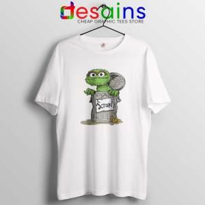 Oscar the Grouch Scram Tshirt Cheap Tee Shirts Oscar the Grouch