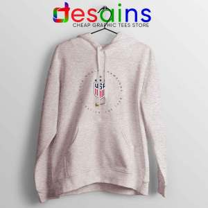 USWNT Champions 2019 Sport Grey Hoodie FIFA Womens World Cup
