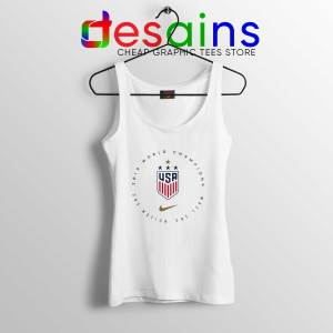 USWNT Champions 2019 Tank Top FIFA Womens World Cup Tank Tops