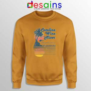 Catalina Wine Mixer Orange Sweatshirt Step Brothers Crewneck Sweater