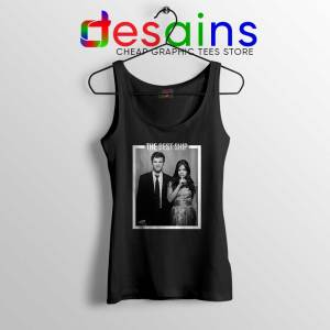 Ezria The Best Ship Black Tank Top Ian Harding and Lucy Hale Tank Tops