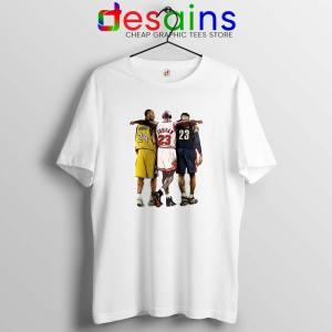 Kobe Bryant x Michael Jordan x Lebron James Tshirt Cheap Tees Shirts