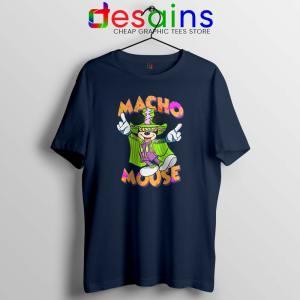 Macho Dig It Mickey Mouse Navy Tshirt Macho Mouse Tees Shirts