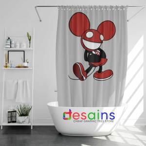 Mickey Mau5 Shower Curtain Buy Deadmau5 Mickey Mouse Curtains