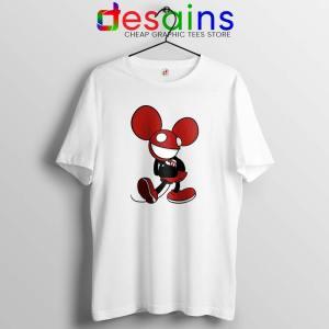 Mickey Mau5 White Tshirt Deadmau5 Mickey Mouse Tee Shirts GILDAN