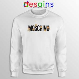 Moschino Teddy Bear Sweatshirt Moschino Sweater GILDAN S-2XL
