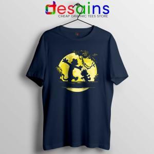 No Worries Hakuna Mashup Navy Tshirt Worry Free Cheap Tees Shirts