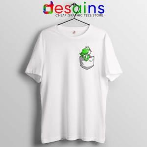 Pocket Yoshi Tshirt Super Mario Luigi Yoshi Tee Shirts