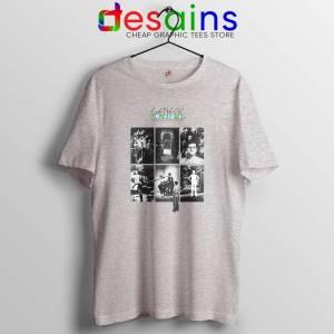 The Lamb Lies Down on Broadway Tshirt 2 Genesis Band Tee Shirts Sport Grey