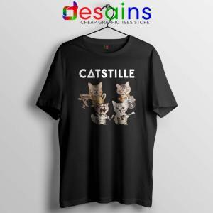 Catstille Band Bastille Cats Black Tshirt Bastille Tee Shirts S-3XL