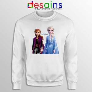 Elsa Anna Frozen 2 Sweatshirt Disney Film Merch Sweater S-3XL