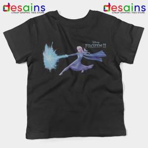 Elsa Frozen 2 Attack Kids Tshirt Disney Frozen Youth Tee Shirts S-XL