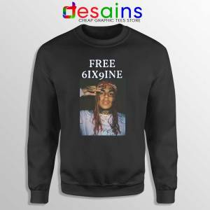 Free 6ix9ine Sweatshirt Tekashi 6ix9ine Sweater Size S-3XL